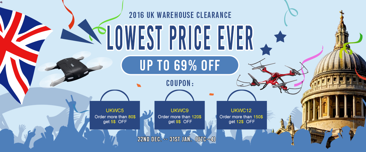 2016 UK WAREHOUSE CLEARANCE LOWEST PRICE EVER