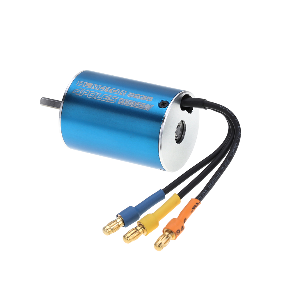 2838 3600kv 4p sensorless brushless motor 35a brushless for Sensorless brushless motor controller