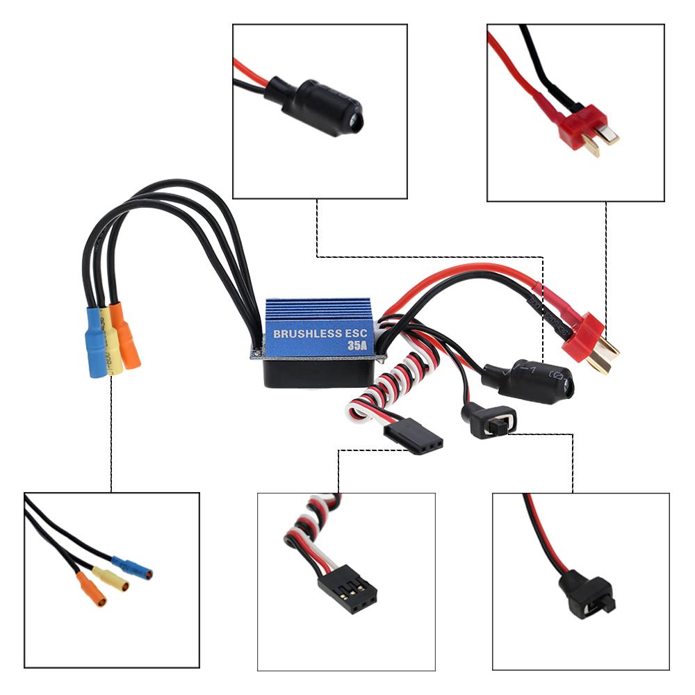 Only us 2838 4500kv 4p sensorless brushless motor for Sensorless brushless motor controller