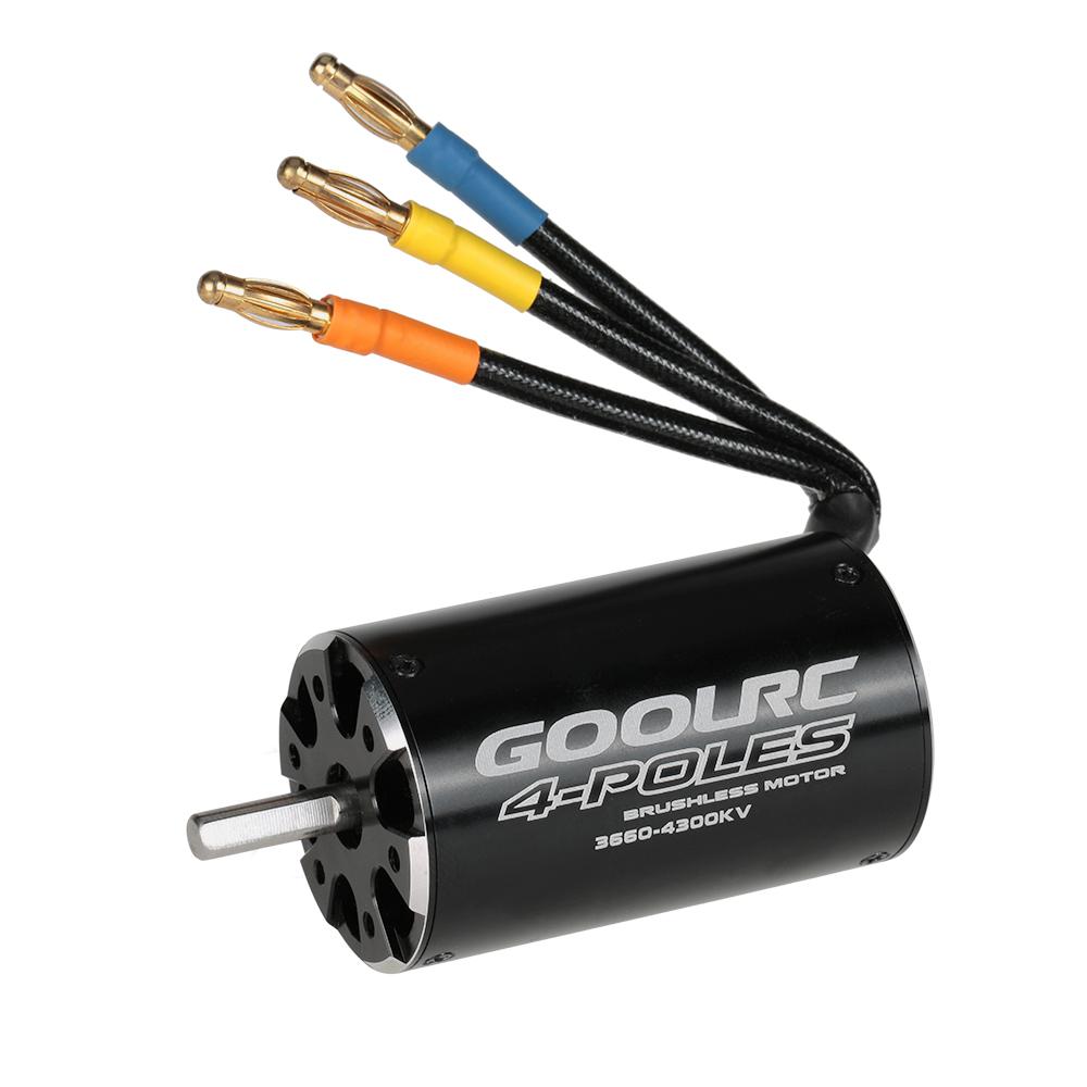 Original Goolrc High Performance 3660 4300kv 4 Poles