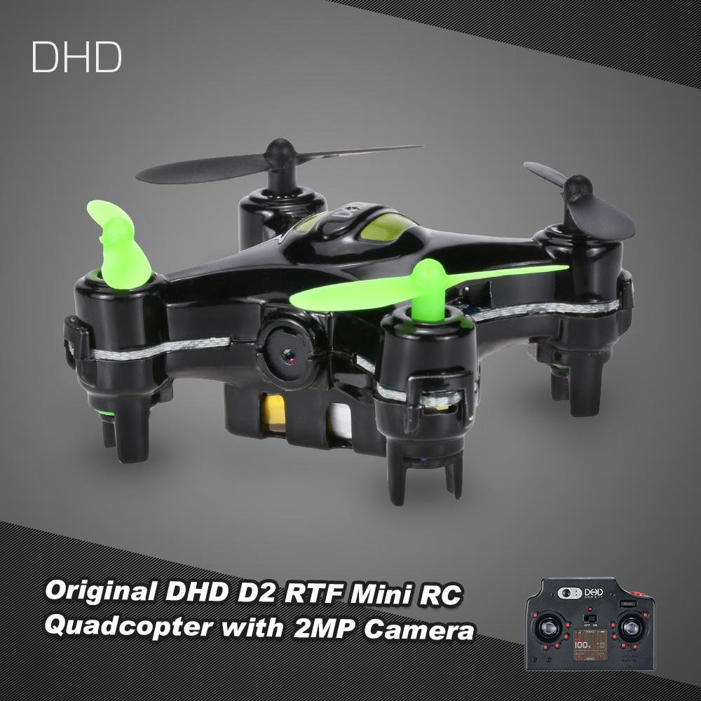 $2 off for DHD D2 RC Drone with 2MP Camera USD$28.99