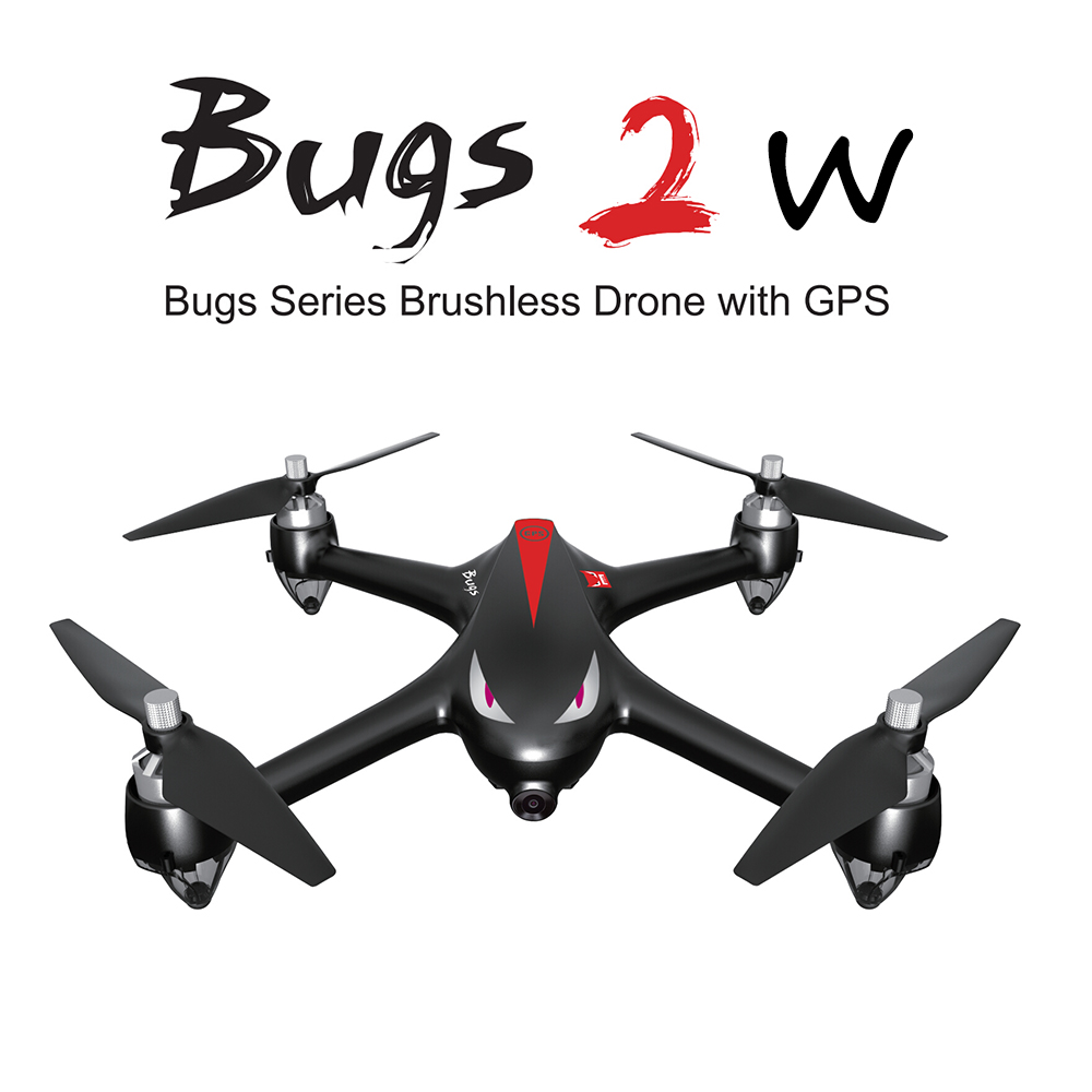 Get Extra $16 off MJX B2W Bugs 2W 2.4G 6-Axis Gyro Brushless Motor Independent ESC 1080P Camera Wifi FPV Drone GPS RC Quadcopter
