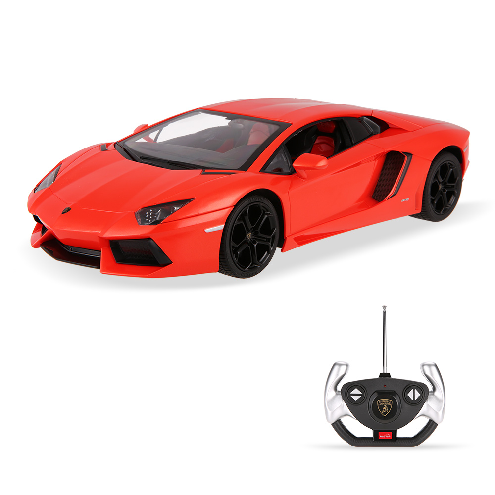 orange rastar 43000 27mhz r c 1 14 lamborghini aventador lp700 radio remote control model car. Black Bedroom Furniture Sets. Home Design Ideas