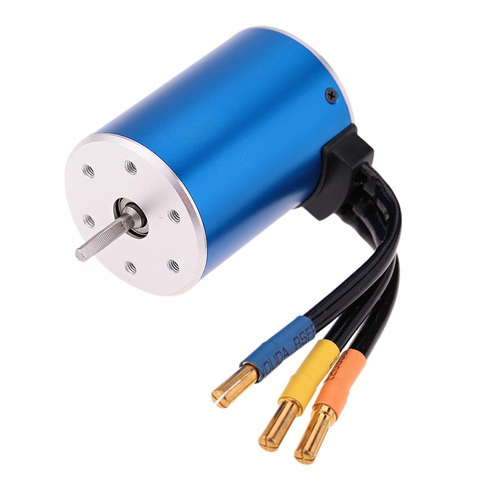 3650 3100kv 4p sensorless brushless motor with 60a for Brushless motor speed control