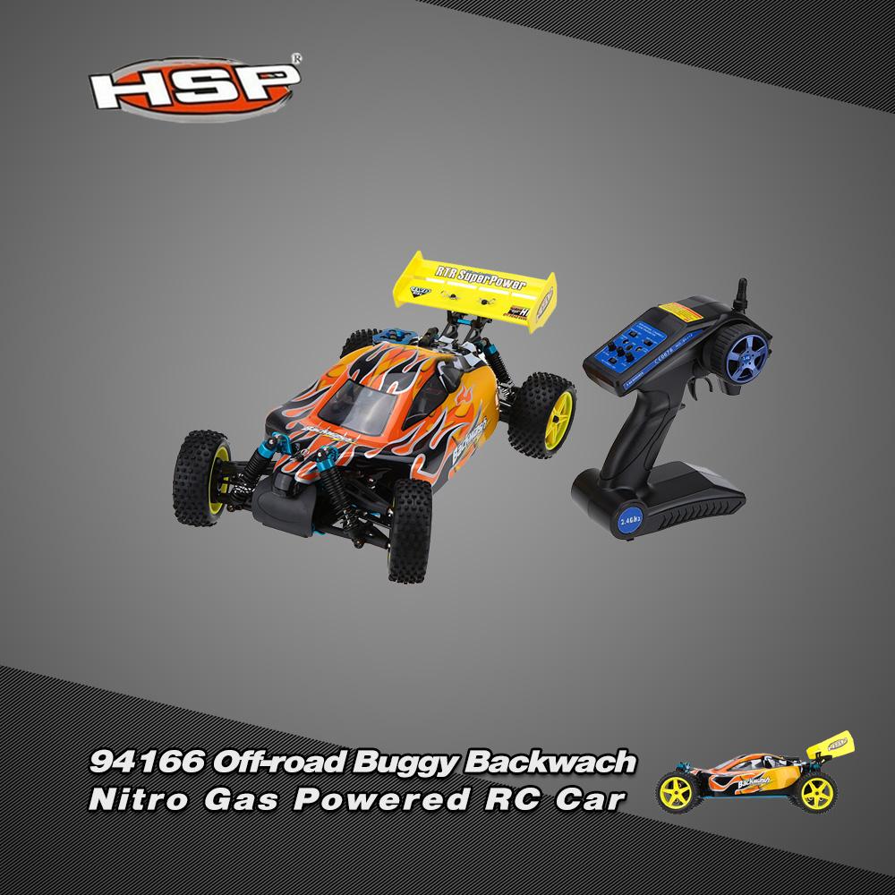 Original HSP 1/10 94166 Off-road Buggy Backwach Nitro Gas