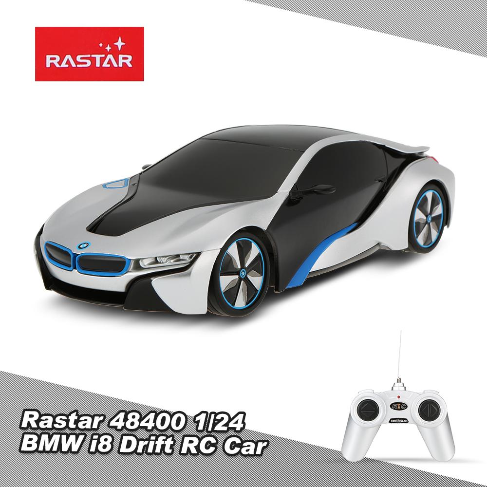 silver rastar 48400 1 24 bmw i8 drift rc car. Black Bedroom Furniture Sets. Home Design Ideas