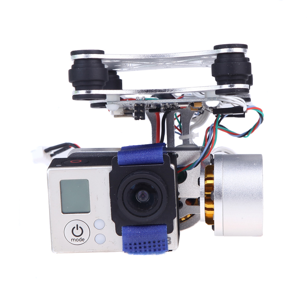 Brushless Gimbal Camera Mount With Motor Controller For