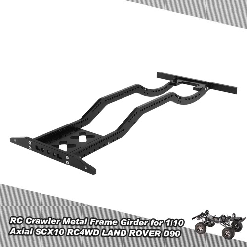 Buy RC Crawler Metal Frame Girder 1/10 Axial SCX10 RC4WD D90 JK Wrangler Rock Car