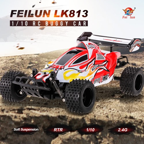 Buy FEILUN LK813 2.4G 2CH 1/10 Electric RC Off-Road Buggy Car Racing Truck RTR