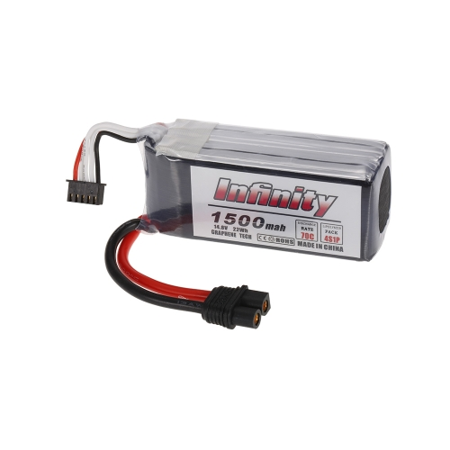Buy Infinity 4S 14.8V 1500mAh 70C Graphene LiPo Battery SY60 XT60 Plug 250 280 Racing Drone RC Quadcopter Helicopter Car Boat