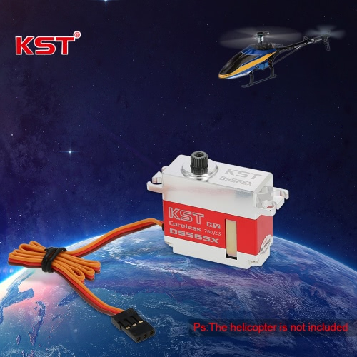 Buy Original KST DS565X Metal Gear HV Torque Digital Servo 450 500 RC Helicopter Airplane