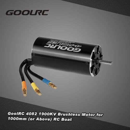 Buy Original GoolRC High Performance 4082 1900KV 4 Poles Brushless Sensorless Motor 1000mm (or Above) RC Boat