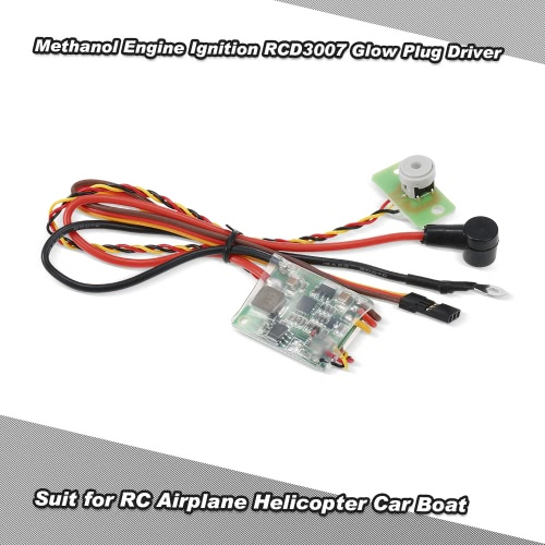 Buy RC Methanol Engine Ignition RCD3007 Remote Heat Head Driver Glow Plug Airplane Helicopter Car Boat