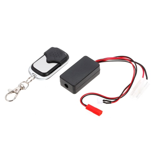 Buy Automatic Crawler Winch Control Wireless Remote Controller Receiver 1/10 Axial SCX10 TAMIYA CC01 Climbing Off-road Car Truck