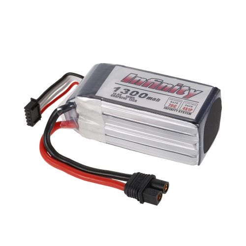 Buy Infinity 4S 14.8V 1300mAh 70C Graphene LiPo Battery SY60 XT60 Plug 210 250 280 Racing Drone RC Quadcopter Helicopter Car Boat