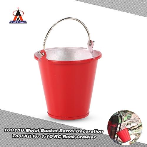 Buy AUSTAR 10011B Metal Bucket Barrel Simulation Tool Kit 1:10 RC Rock Crawler