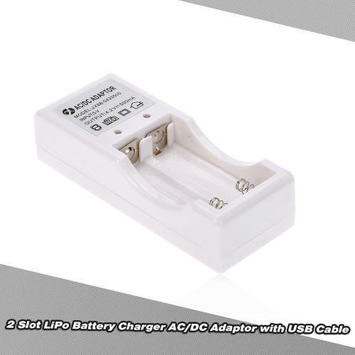 Buy 2 Slot LiPo Battery Charger AC/DC Adaptor USB Cable SUBOTECH BG1510 BG1511 Series RC Car