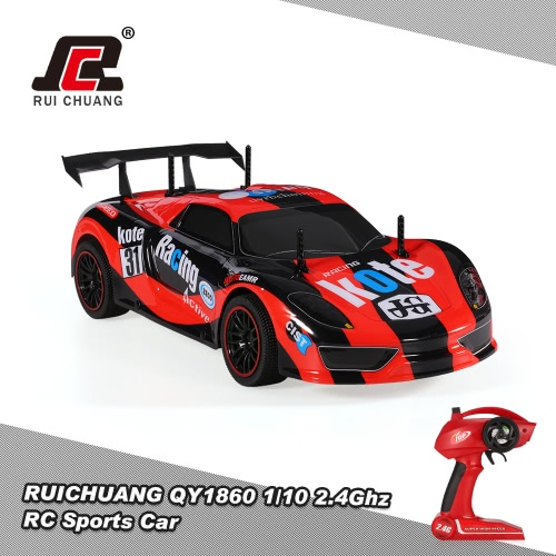 Buy RUICHUANG QY1860 1/10 2.4G 2CH 2WD Electric RC Sport Racing Car