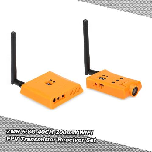 Buy ZMR 5.8G 40CH 200mW WIFI FPV 720P Camera AV VTX RX Transmitter Receiver Combo Gopro 3 3+ 4 RC Quadcopter Drone