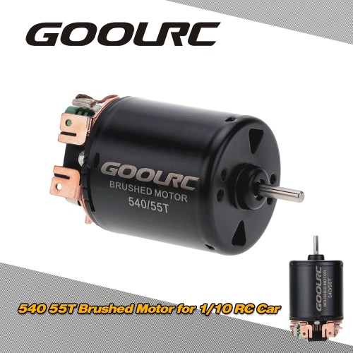 Buy GoolRC 540/55T Brushed Motor 1/10 RC Car