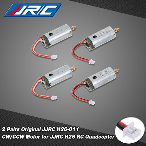 Buy 2 Pairs Original JJRC H26-011 CW/CCW Motor H26 RC Quadcopter