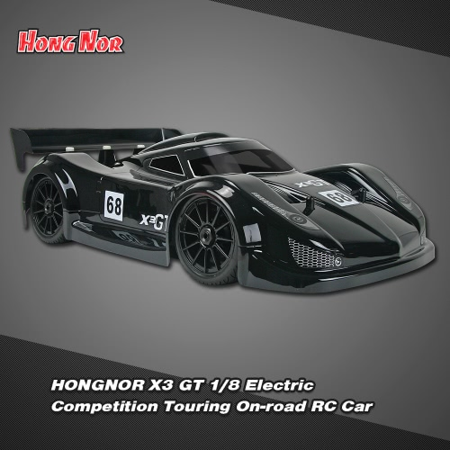 Buy Original HONGNOR X3 GT 1/8 4WD Competition Touring Nitro RC Car KIT Version Fuel Tank Internal Differential Gear