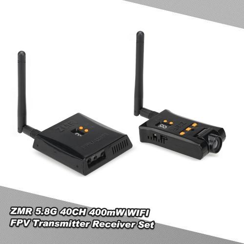 Buy ZMR 5.8G 40CH 400mW WIFI FPV 720P Camera AV VTX RX Transmitter Receiver Combo Gopro 3 3+ 4 RC Quadcopter Drone