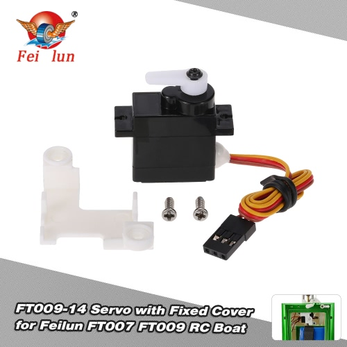 Buy FT009-14 Servo Module Fixed Cover Boat Spare Part Feilun FT007 FT009 RC