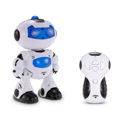 Buy LEZHOU TOYS 99333 Remote Control Robot Walking Lighting Musical Electric Toy Children Kids Gift