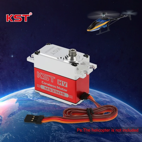 Buy Original KST MS3509 HV Aluminum Alloy Case Contactless Position Sensor Steel Gear Digital Servo RC Models & Robot