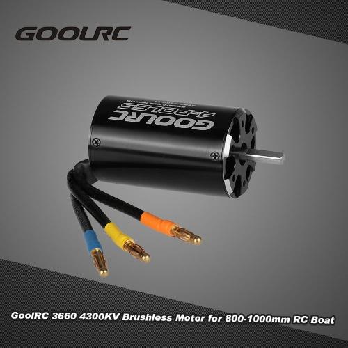 Buy Original GoolRC High Performance 3660 4300KV 4 Poles Brushless Sensorless Motor 800-1000mm RC Boat