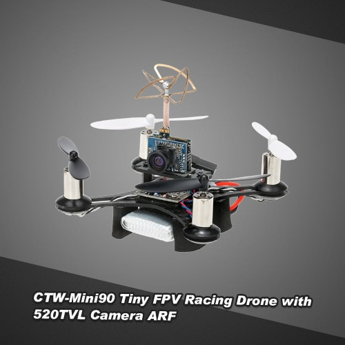 Buy CTW-Mini90 Tiny FPV Indoor 90mm Micro Racing Drone 1 Extra Battery F3 EVO Brushed Flight Controller ARF