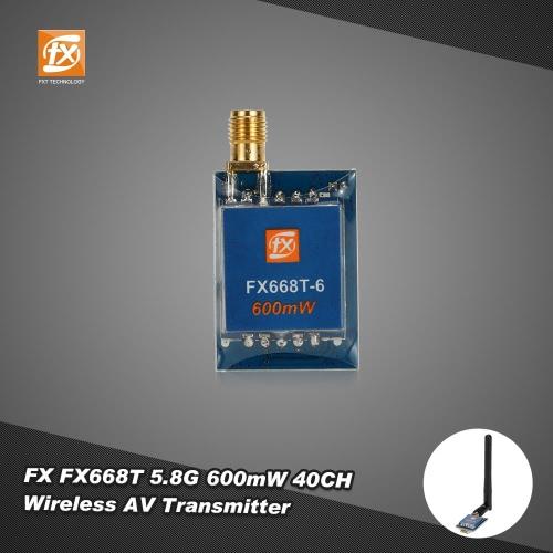 Buy Original FX FX668T 600mW 5.8G 40CH Wireless AV Transmitter RC Drone FPV Real Time Transmission