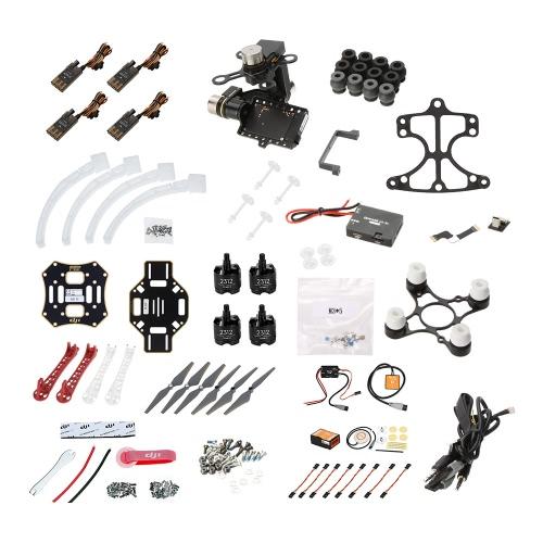 Buy Original DJI Flame Wheel F450 ARF Quadcopter Frame KIT Naza-M V2 Landing Gear Mounting Adapter Zenmuse H3-3D 3-axis Gimbal(Standard)