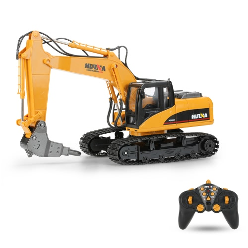 Buy HUI NA TOYS NO.1560 Excavator Broken Disassemble RC Truck 2.4G 16CH Engineering Vehicle Toys