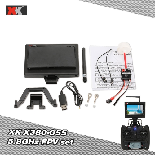 Buy XK Upgraded Parts X380-055 5.8GHz AV TX/RX FPV Sets X380 RC Quadcopter