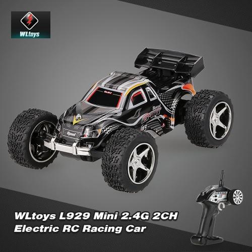 Original WLtoys L929 Mini 2.4Ghz 2CH Electric RTR RC Stunt Car
