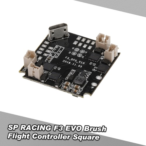 Buy F3 Brushed Flight Controller Square Blade Inductrix NH-010 H36 Tiny Micro Mini FPV Racing Quadcopter