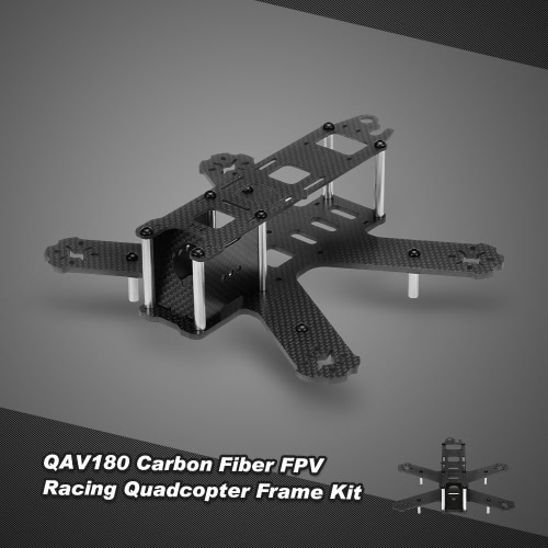 180mm Carbon Fiber Quadcopter Frame Kit for QAV180 RC FPV Racing Drone