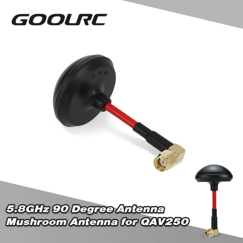 Buy GoolRC 5.8GHz 90 Degree Antenna Mushroom RP-SMA QAV250 FPV Racing Quadcopter