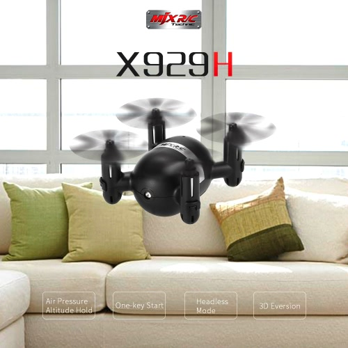 Buy Original MJX X929H 2.4G 4CH 6-Axis Gyro Mini Drone Altitude Hold Headless Mode RC Quadcopter RTF