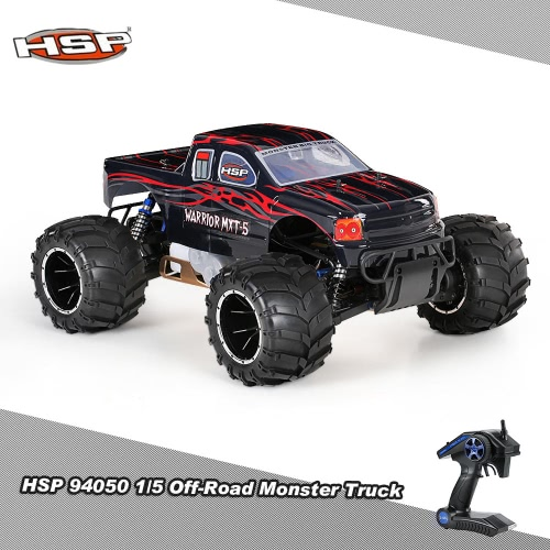 Original HSP 94050 Off-Road 1/5 2.4Ghz 2CH 4WD RTR 32CC Gasoline Powered Monster Truck Car