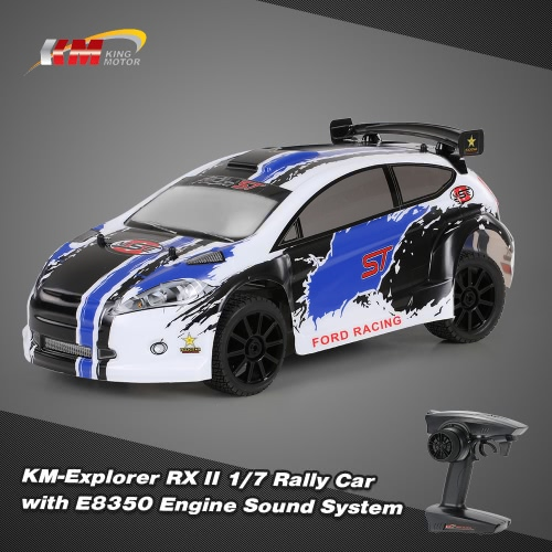 Buy Original KM-Explorer RX II 1/7 2.4G 4WD Electric Brushless High Speed RC Rally Racing Car