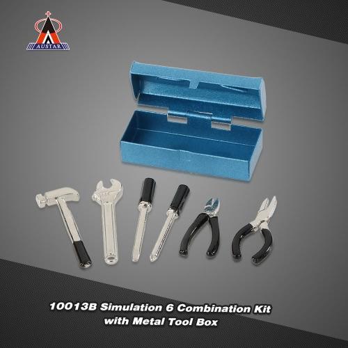 Buy AUSTAR 10013A Simulation 6 Combination Kit Metal Tool Box RC Rock Crawler