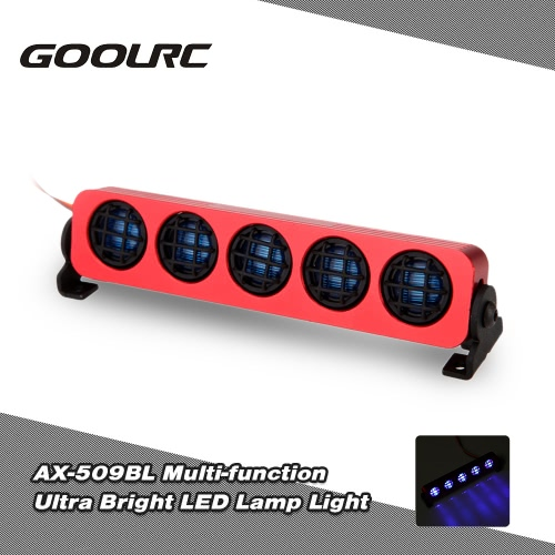 Buy GoolRC AX-509Y Ultra Bright LED Lamp Light 1/8 1/10 HSP Traxxas TAMIYA Axial SCX10 Monster Truck Short Course RC Car