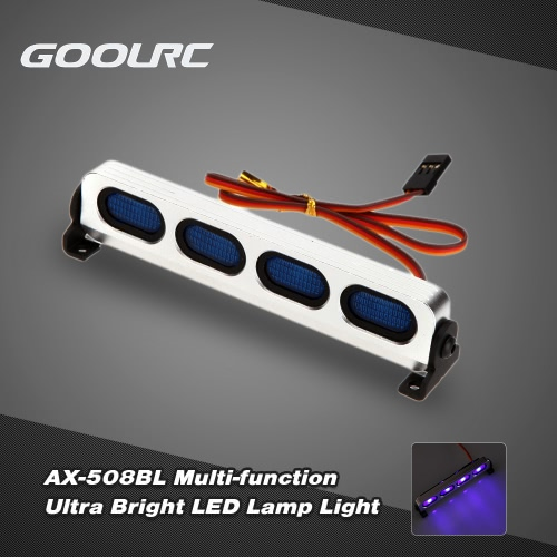 Buy GoolRC AX-508BL Ultra Bright LED Lamp Light 1/8 1/10 HSP Traxxas TAMIYA Axial SCX10 Monster Truck Short Course RC Car