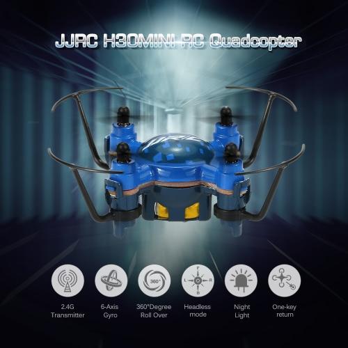 Buy JJRC H30 Mini RC Quadcopter 2.4G 4CH 6-Axis Gyro Drone One Key Return Headless Mode 3D-Flip RTF