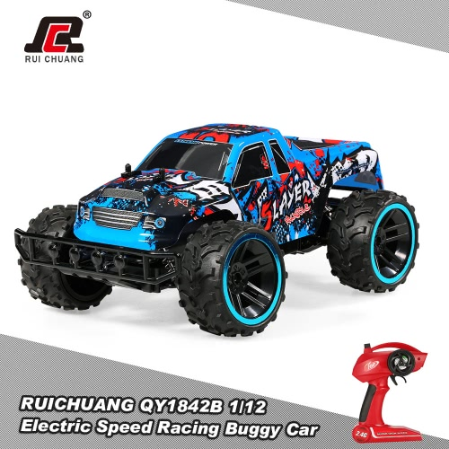 Buy RUICHUANG QY1842B 1/12 2.4G 2CH 2WD Electric Speed Racing Buggy Car