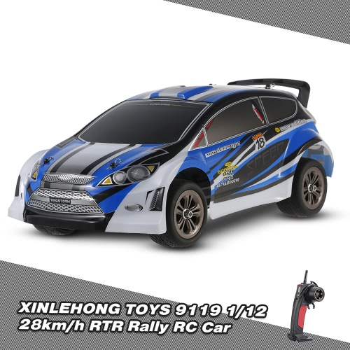 Buy XINLEHONG TOYS 9119 2.4GHz 2WD 1/12 Electric RTR High Speed Rally RC Car