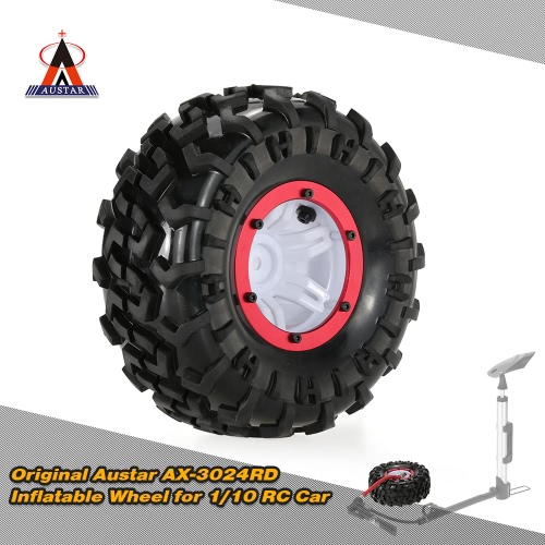 Buy Original Austar AX-3024GD Air Pneumatic Beadlock Wheel Rim Tire 1/10 HSP HPI Tamiya Monster Truck